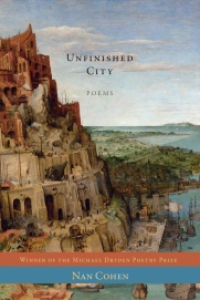 cover of poetry book Unfinished City