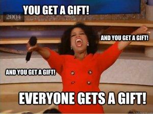 Oprah gift meme