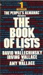 Cover of The Book of Lists