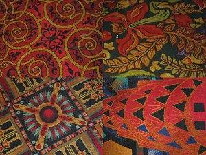 gaudy casino carpet